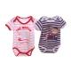 寶寶短袖連身衣(2件一組)  k50053