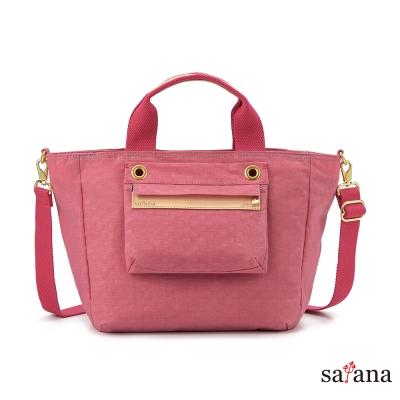 satana - 多隔層手提包/斜背包 - 歡喜玫瑰