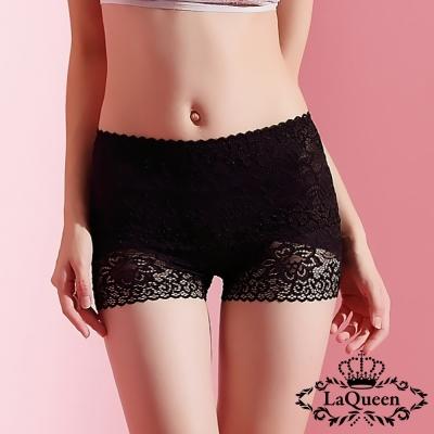塑褲  高質中高腰蠶絲膠原蛋白塑褲-黑 La Queen