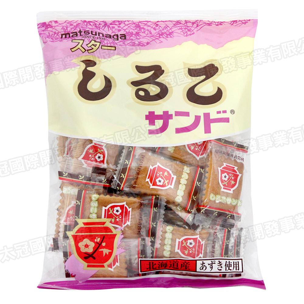 松永製果 北海道紅豆夾心餅乾(110gx3包)