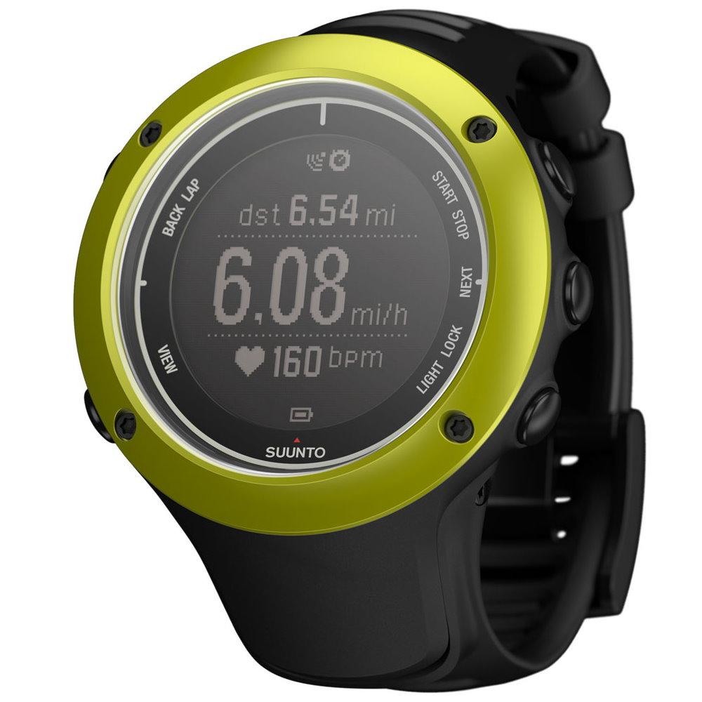 SUUNTO AMBIT2 S GPS鋁合金專業運動腕錶 黃綠