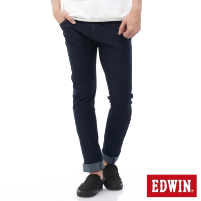 EDWIN 迦績褲JERSEYS X E-FUNCTION牛仔褲-男-原藍色