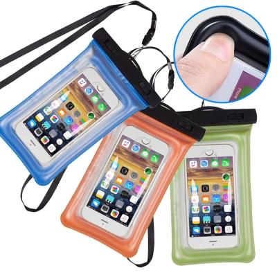 水漾 夏天必備 進水警告氣囊漂浮式 6吋以下手機防水袋