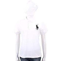 Ralph Lauren Fit Big Pony 大馬刺繡短袖POLO衫(白色)