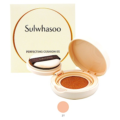 Sulwhasoo雪花秀 完美瓷肌氣墊粉霜(SPF50+PA+++)5g