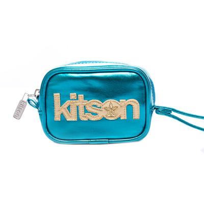 kitson 金屬光數位相機包 / 隨身包-BLUE