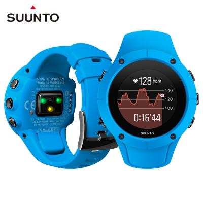 SuuntoSpartanTrainerWristHR全方位訓練的GPS運動腕錶-經典藍