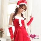 天使霓裳 魅力吸引 狂熱聖誕舞會 耶誕服 角色服(紅F)