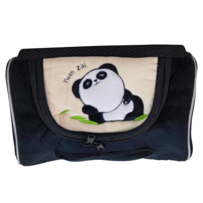 安伯特貓熊磁吸式面紙盒套三色可選熊貓卡通專利超強吸鐵