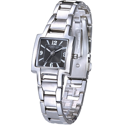 KENNETH COLE 自信滿分時尚女腕錶(黑)