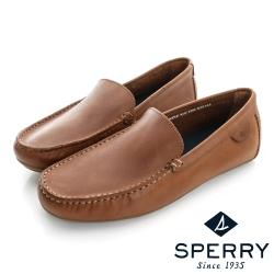 SPERRY 絕對舒適經典牛皮開車鞋(男)-棕