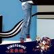 地藏小王 BLUE WAY 金魚姬套魚缸彈力刷破小直筒褲 product thumbnail 1