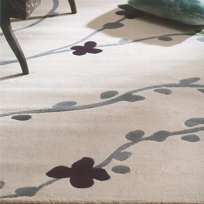 范登伯格 - 香榭 進口仿羊毛地毯 - 梅花 (160 x 230cm)