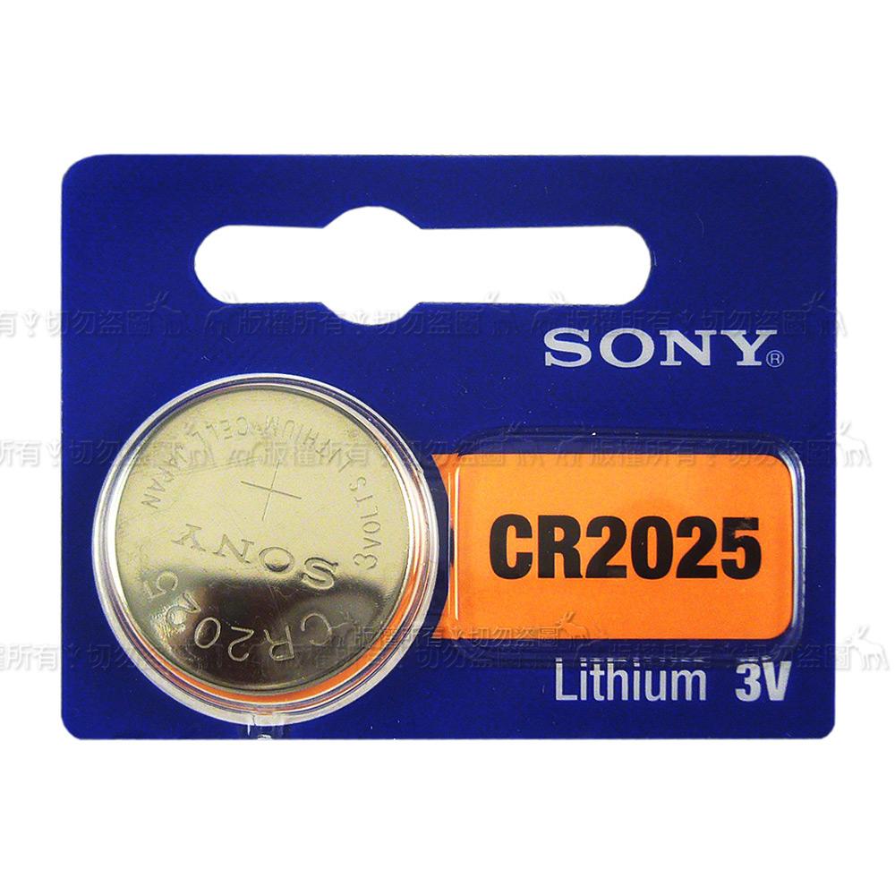 SONY 鈕扣型電池 CR2025 (5入)
