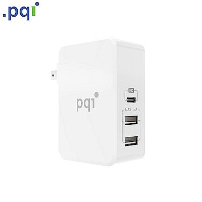 PQI Smart i-Charger PD 41W 智慧快速三孔充電器