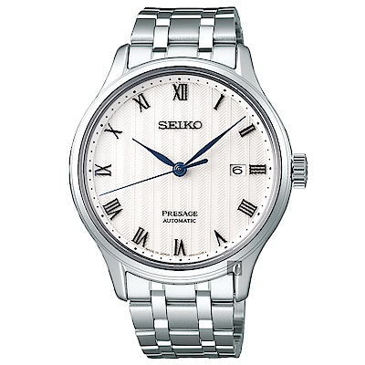 SEIKO精工 Presage 日式風格羅馬機械錶(SRPC79J1)