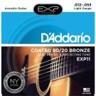 DAddario DDXF-EXP11 黃銅民謠木吉他套弦