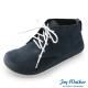 Joy Walker 高筒拼接綁帶包鞋*藍色 product thumbnail 1
