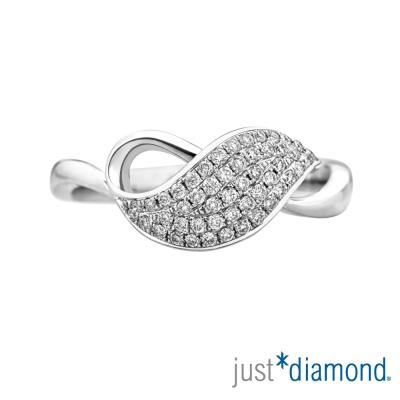 Just Diamond 18K金鑽石尾戒-翩舞