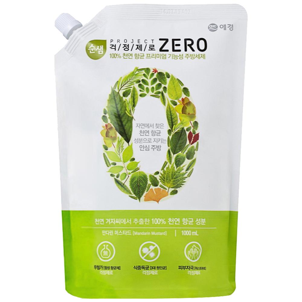 韓國愛敬AK ZERO全植物蔬果碗盤洗潔液 1000ml
