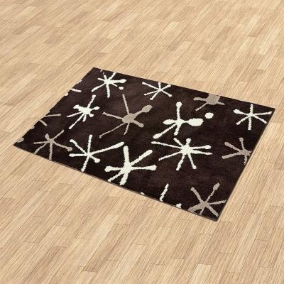 Ambience- Iris 超細纖維長毛地毯 -晶彩(60x100cm)