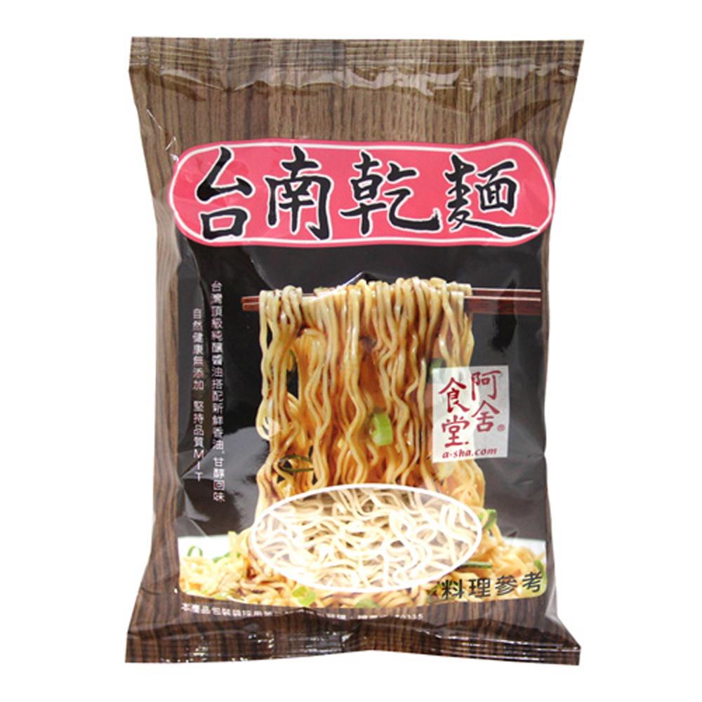 阿舍食堂 台南乾麵-辣味(奶素)(5包/組)