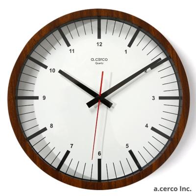 a.cerco ARES 設計時鐘 -胡桃木