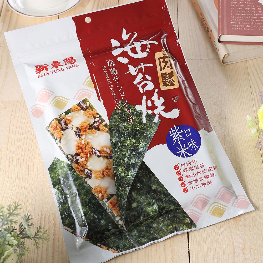 新東陽 肉鬆紫米海苔燒(40g)