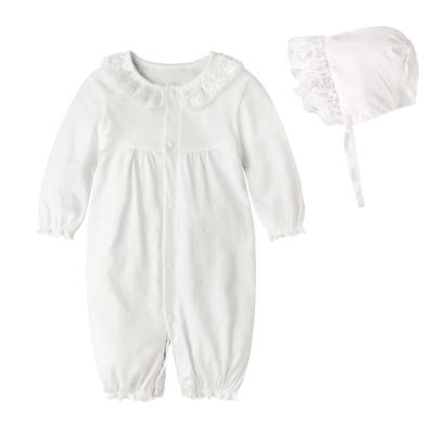 baby童衣-彌月女寶寶蕾絲連身衣-61114