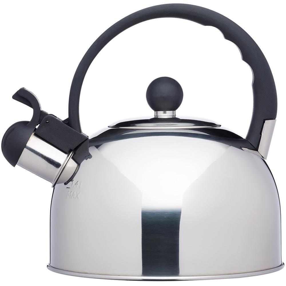 KitchenCraft 不鏽鋼笛音壺(鏡亮1.4L)