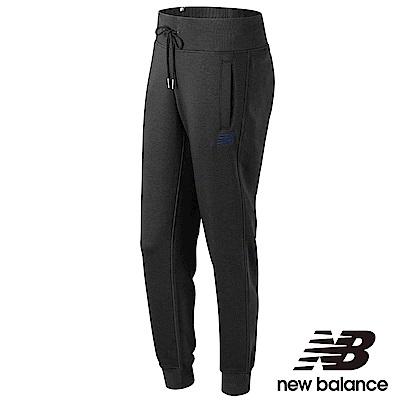 New Balance 刷毛束口長褲 AWP73535BK 女性 黑色