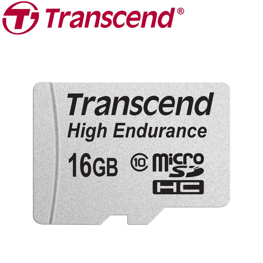 創見 16G 高耐用microSDHC記憶卡