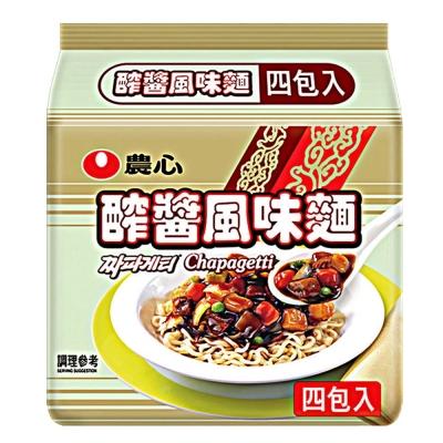 農心 醡醬麵(140gx4入)