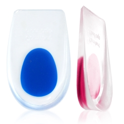 足的美形  矽膠杯型後跟墊 (2雙)