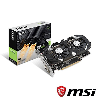 MSI微星 GeForce GTX 1050 2GT OCV1 顯示卡