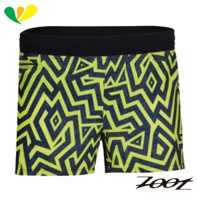ZOOT 頂級極致冰涼感3吋路跑短褲(男) Z1704024(閃電黃)