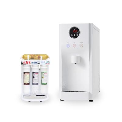 水蘋果 WA-190 冰溫熱三溫桌上型飲水機+WA505活礦機