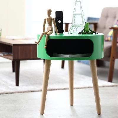 Bed Maker-布蕾爾 多用途沙發邊桌/圓桌/茶几/電腦桌/電話桌/床頭櫃