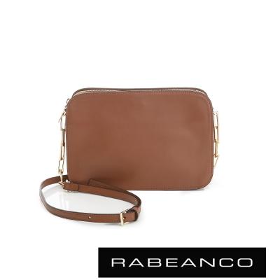 RABEANCO LUXURY極致奢華系列鍊帶包 - 深駝