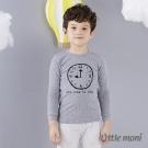 Little moni 純棉家居系列時鐘印圖成套睡衣 (共3色)