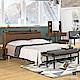 漢妮Hampton莫特系列5尺被櫥式雙人床架