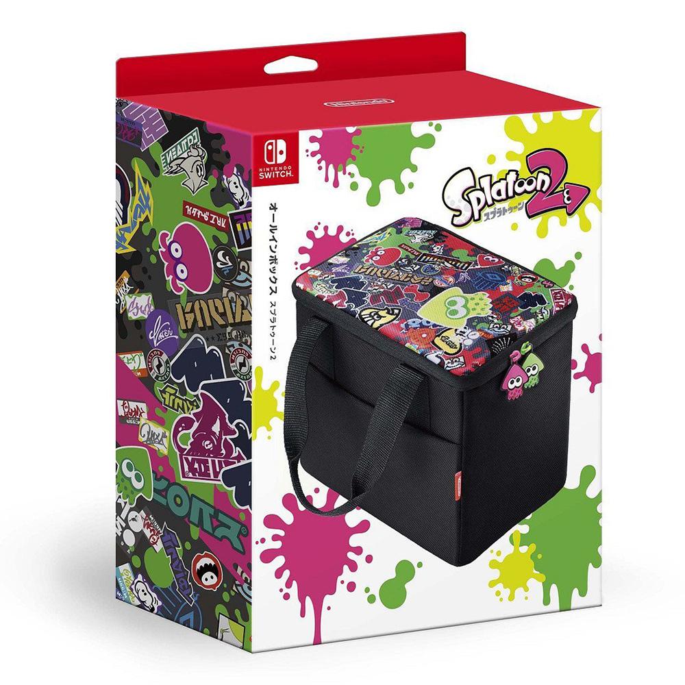 Nintendo Switch 全周邊攜帶包 漆彈大作戰 2 造型款