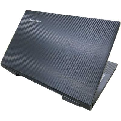 EZstick Lenovo IdeaPad B590 Carbon黑色立體紋機身保護膜