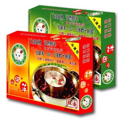 內蒙古小肥羊-養生火鍋冷凍包1000g-4入