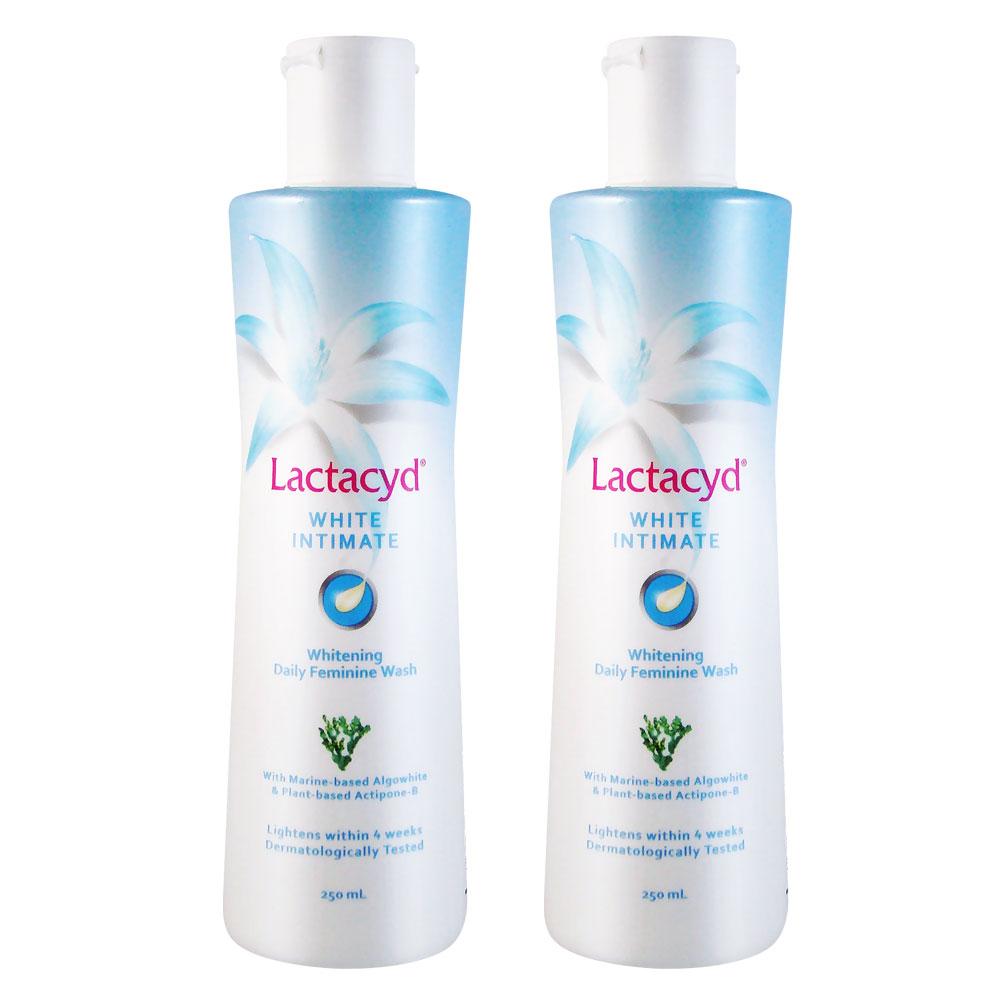 Lactacyd立朵舒 私密潔浴露(淨白柔滑)250mlx2