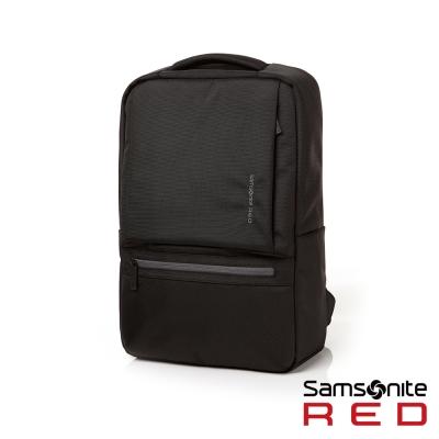 Samsonite RED  BOCKIEE  極簡中性筆電後背包 14 吋(黑)