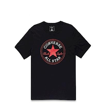 CONVERSE-男休閒短T恤10002848-A01-黑