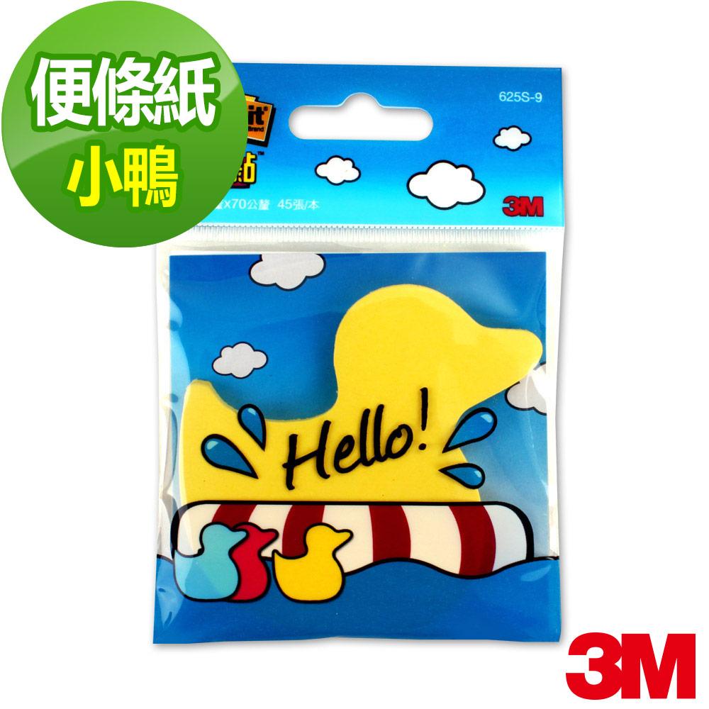 3M 利貼造型便條紙- 小鴨造型45張/本
