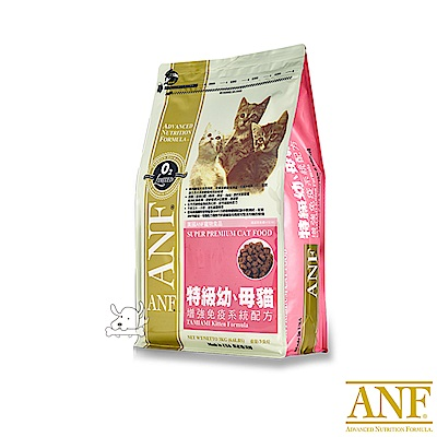 ANF 愛恩富 特級幼母貓配方 貓糧 3kg X 1包