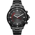 MICHAEL KORS Smartwatch智慧型指針式連線手錶-黑/45mm